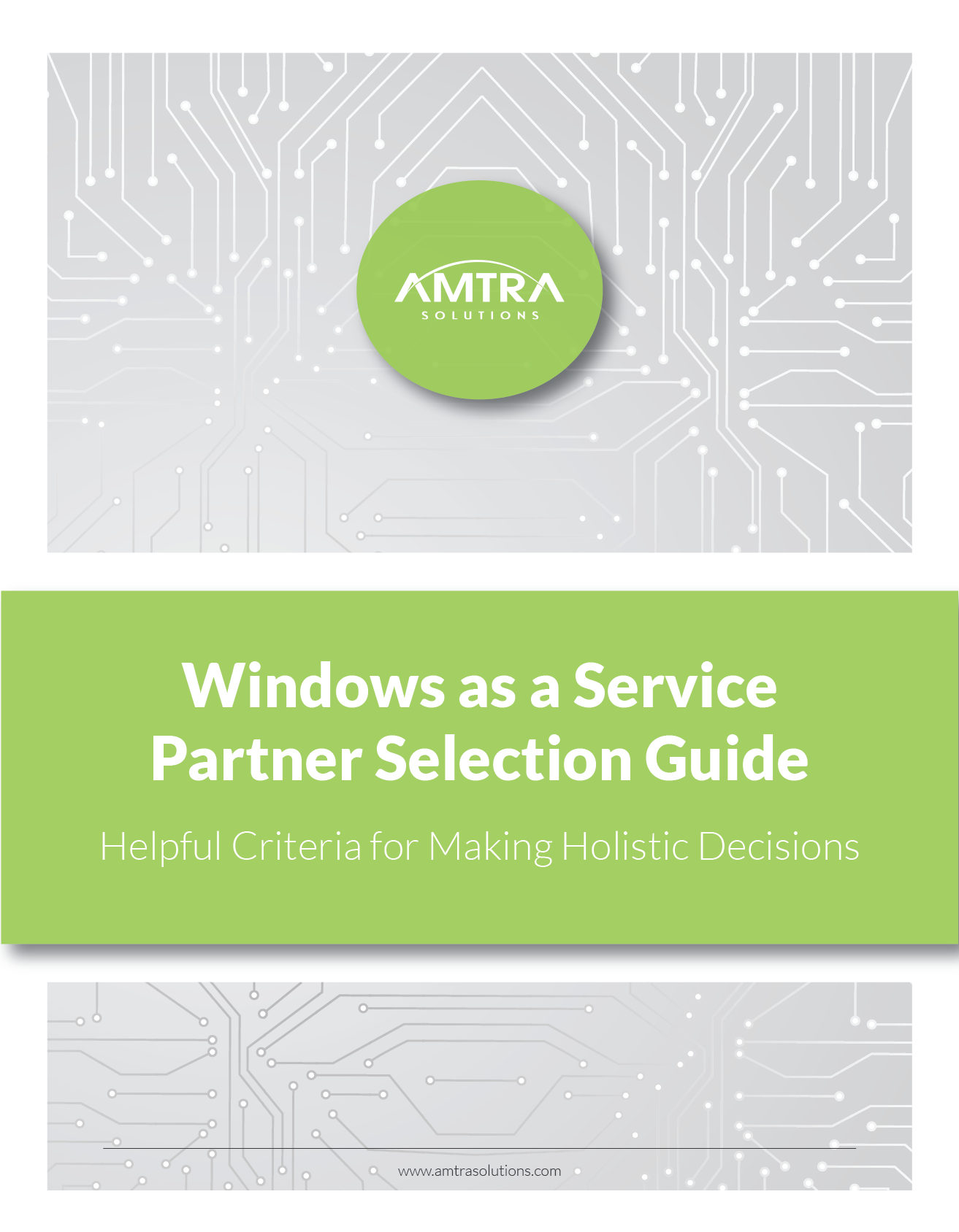 AMTRA Solutions_Windows as a Service_Partner Selection Guide_Cover-01