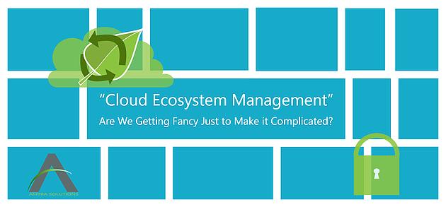 Cloud Ecosystem Management